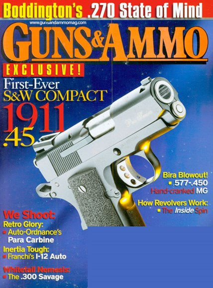 Guns & Ammo Cover - 4/1/2009
