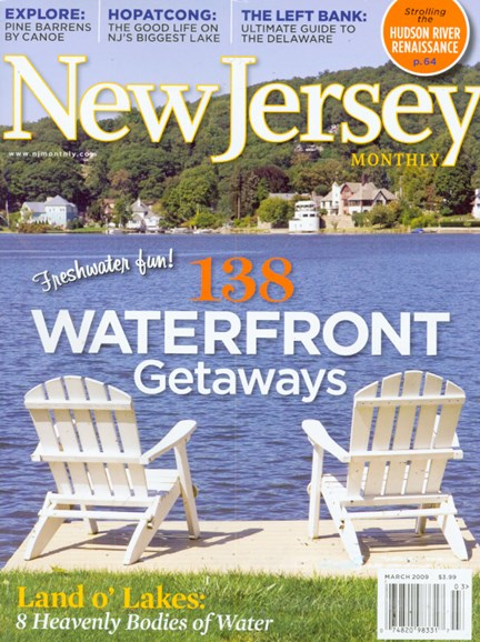 New Jersey Monthly Cover - 3/1/2009