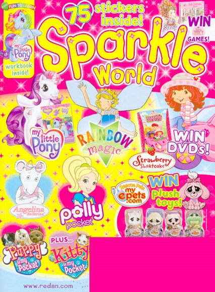 Sparkle World Cover - 3/1/2009