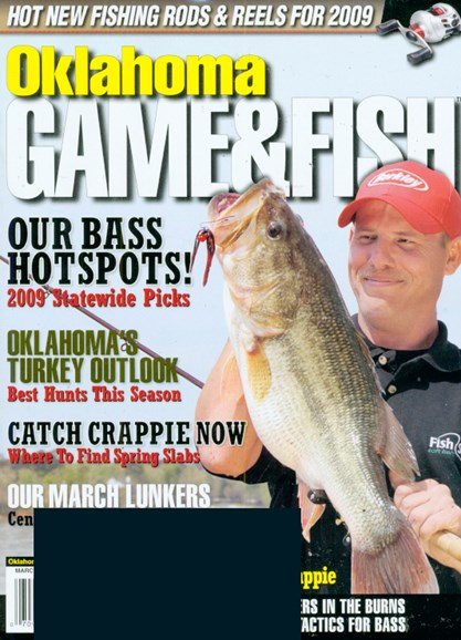 Oklahoma Game & Fish Cover - 3/1/2009