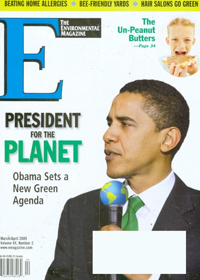 E: The Environment Magazine Cover - 3/1/2009