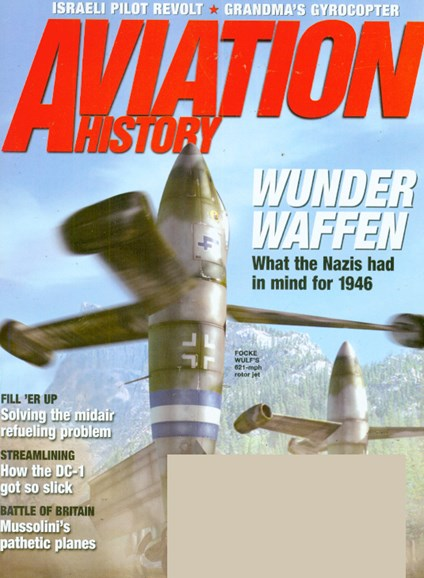 Aviation History Cover - 5/1/2009
