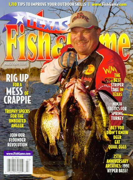Texas Fish & Game Cover - 3/1/2009