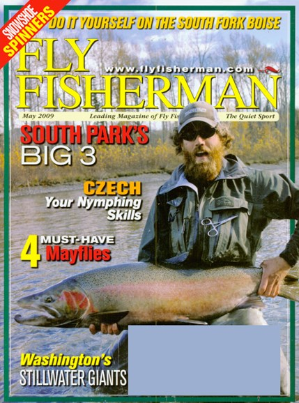 Fly Fisherman Cover - 5/1/2009