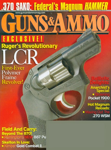 Guns & Ammo Cover - 3/1/2009
