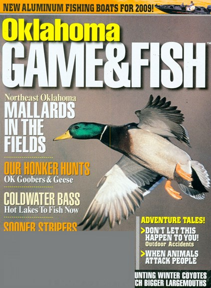 Oklahoma Game & Fish Cover - 1/1/2009