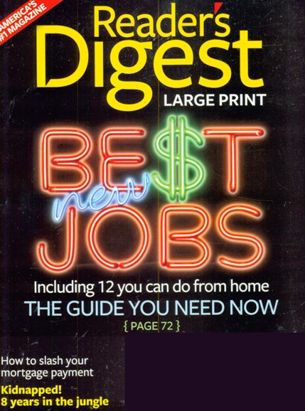 Reader's Digest - Large Print Edition Cover - 3/1/2009