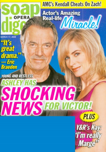 Soap Opera Digest Cover - 3/17/2009