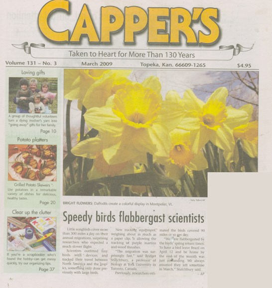 Capper's Cover - 3/1/2009