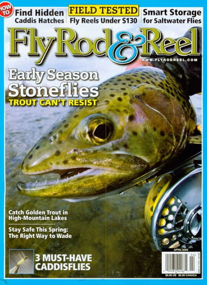 Fly Rod & Reel Magazine Cover - 4/1/2009