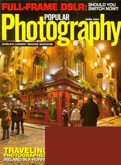 Popular Photography Cover - 4/1/2009