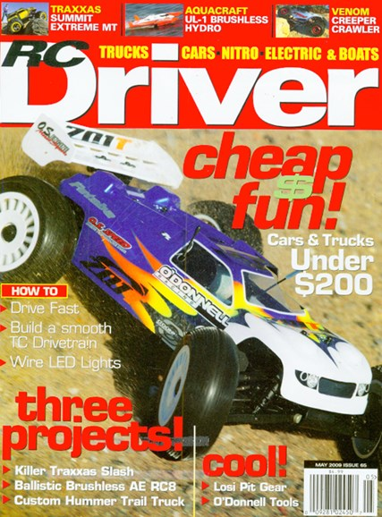 RC Driver Cover - 5/1/2009