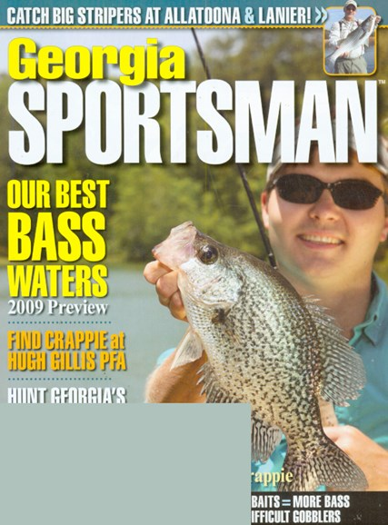 Georgia Sportsman Cover - 4/1/2009