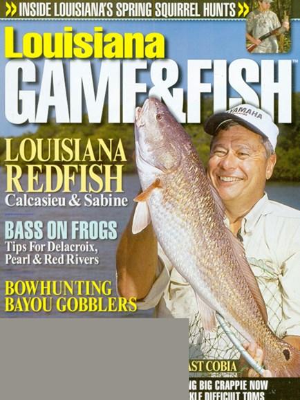 Louisiana Game & Fish Cover - 4/1/2009