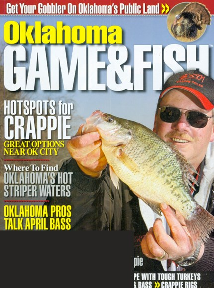 Oklahoma Game & Fish Cover - 4/1/2009