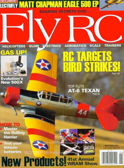 Fly RC Cover - 6/1/2009