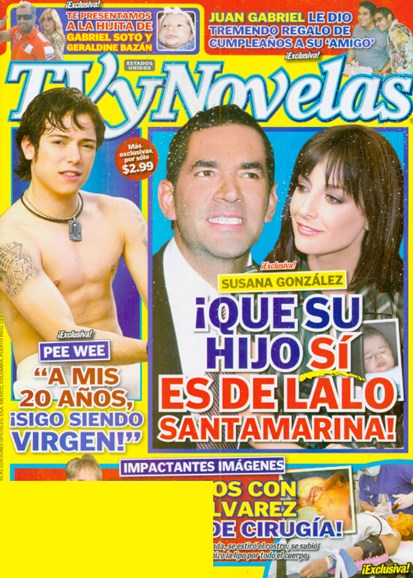 Tv Y Novelas Cover - 4/1/2009