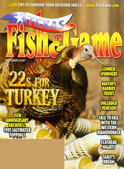 Texas Fish & Game Cover - 4/1/2009