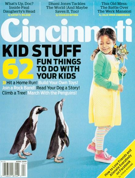Cincinnati Cover - 4/1/2009