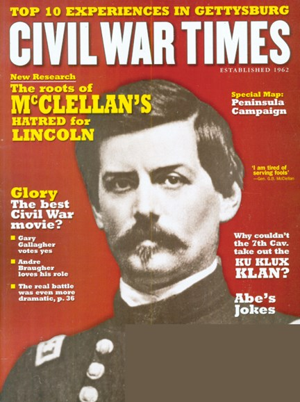 Civil War Times Cover - 6/1/2009