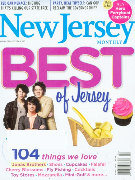 New Jersey Monthly Cover - 4/1/2009