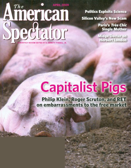 The American Spectator Cover - 4/1/2009