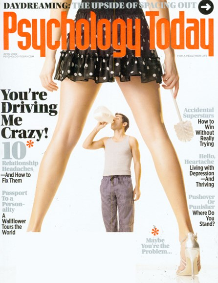 Psychology Today Cover - 4/1/2009