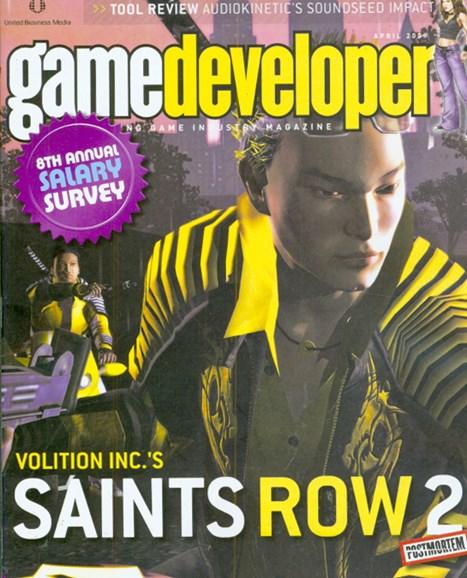 Game Developer Cover - 4/1/2009
