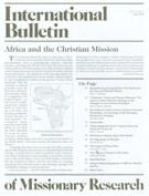 International Bulletin Of Missionary Research 4/1/2009