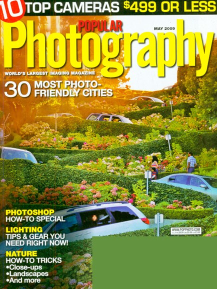 Popular Photography Cover - 5/1/2009