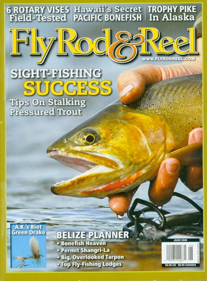 Fly Rod & Reel Magazine Cover - 6/1/2009