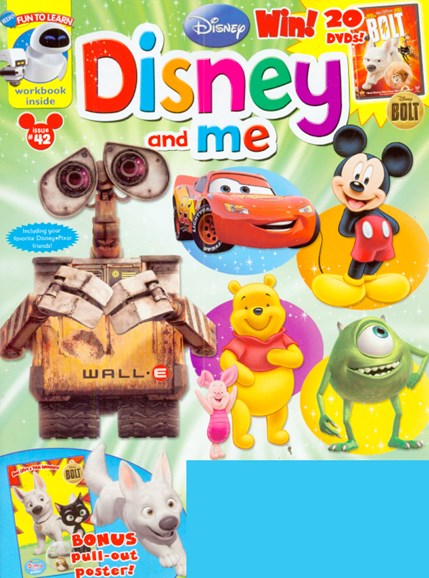 Disney Junior Cover - 5/1/2009