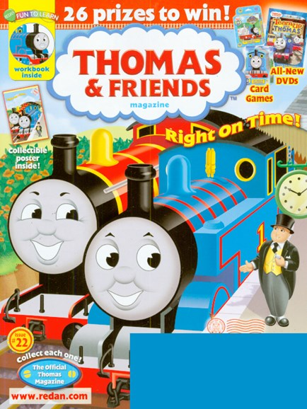 Thomas & Friends Cover - 5/1/2009