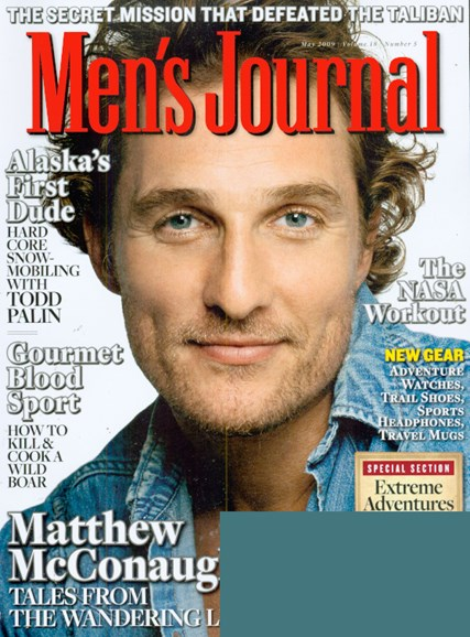 Men's Journal Cover - 5/1/2009