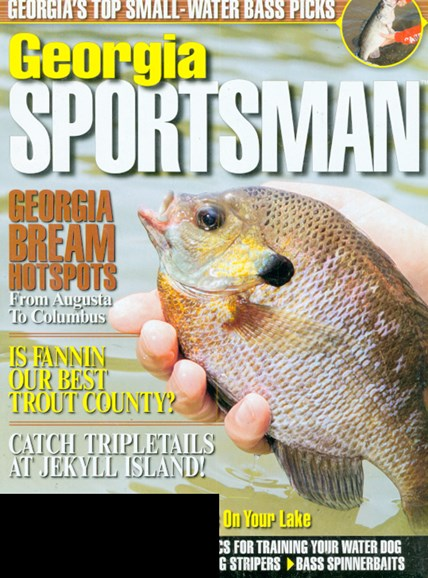 Georgia Sportsman Cover - 5/1/2009