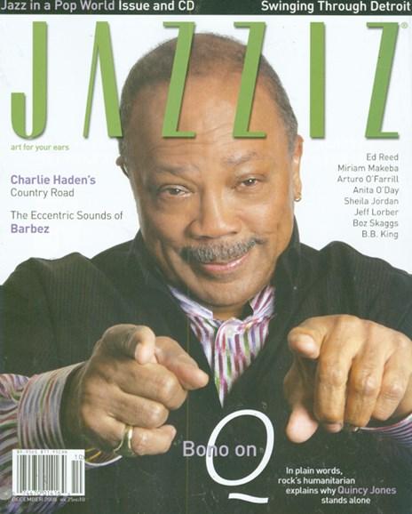 Jazziz Cover - 12/1/2008
