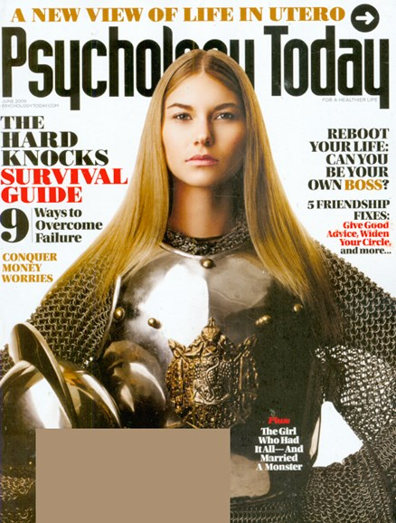Psychology Today Cover - 6/1/2009