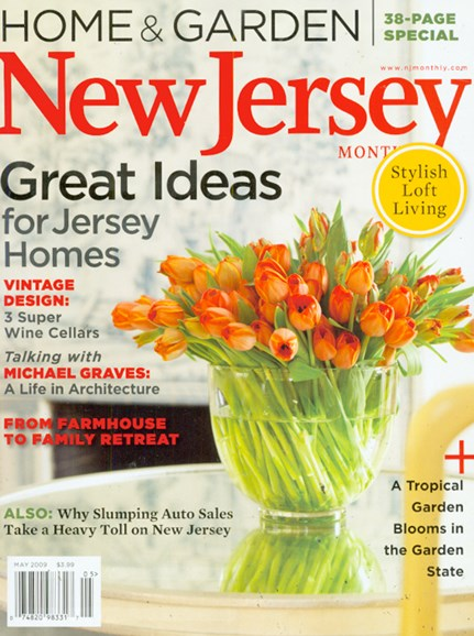 New Jersey Monthly Cover - 5/1/2009