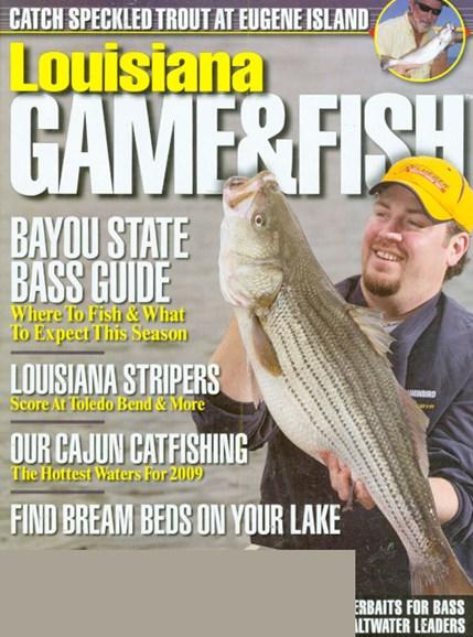 Louisiana Game & Fish Cover - 5/1/2009