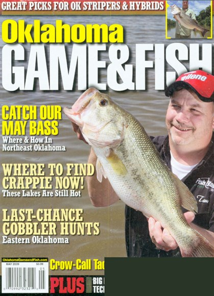 Oklahoma Game & Fish Cover - 5/1/2009