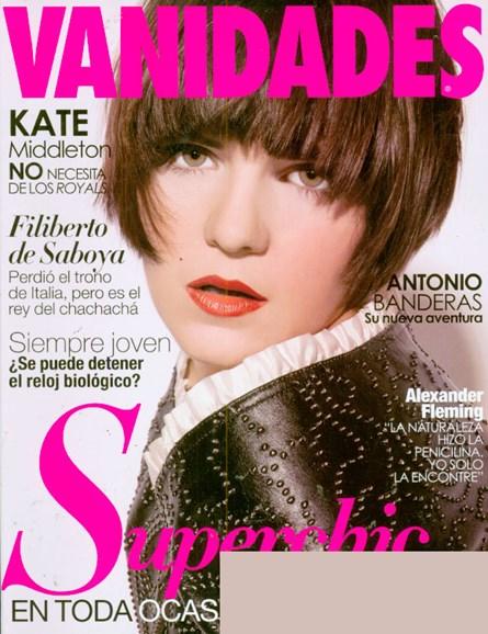 Vanidades Cover - 5/5/2009