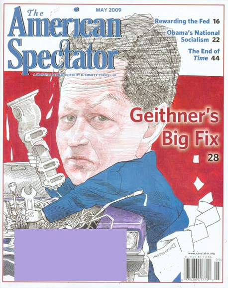 The American Spectator Cover - 5/1/2009