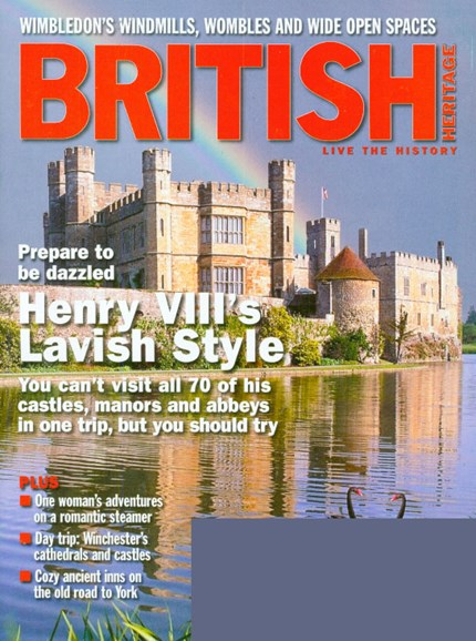British Heritage Travel Cover - 7/1/2009