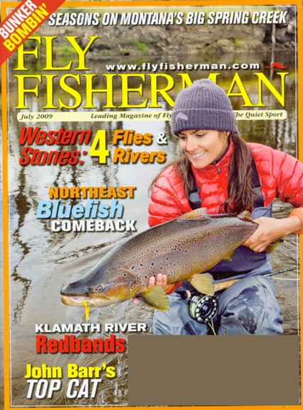 Fly Fisherman Cover - 7/1/2009