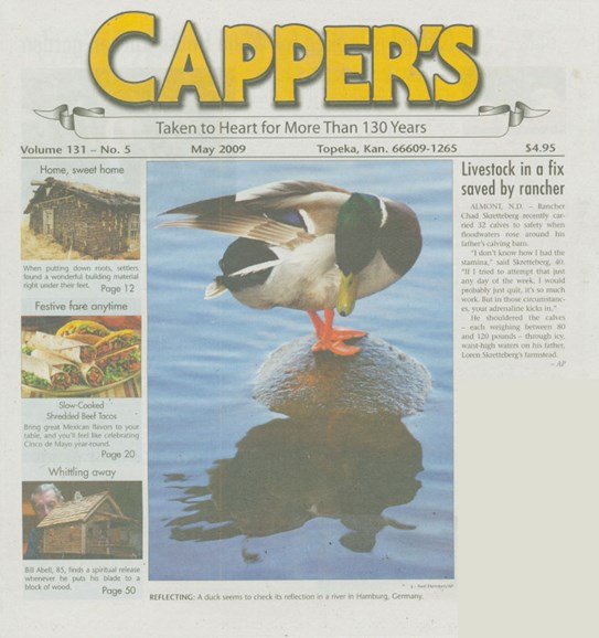 Capper's Cover - 5/1/2009