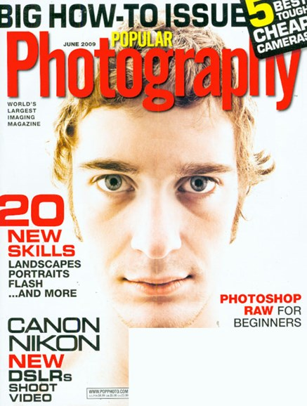 Popular Photography Cover - 6/1/2009
