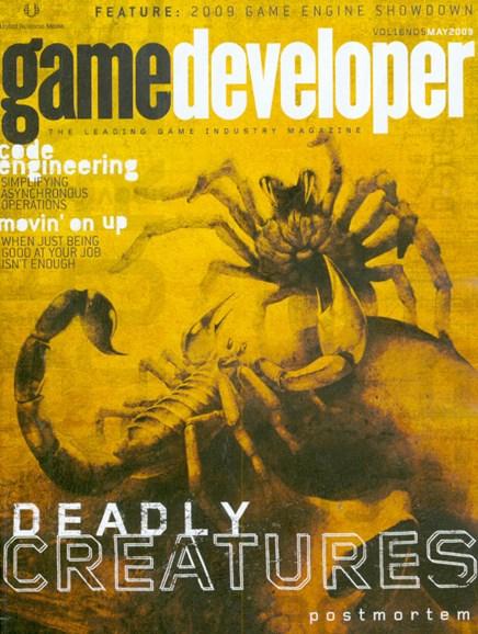Game Developer Cover - 5/1/2009