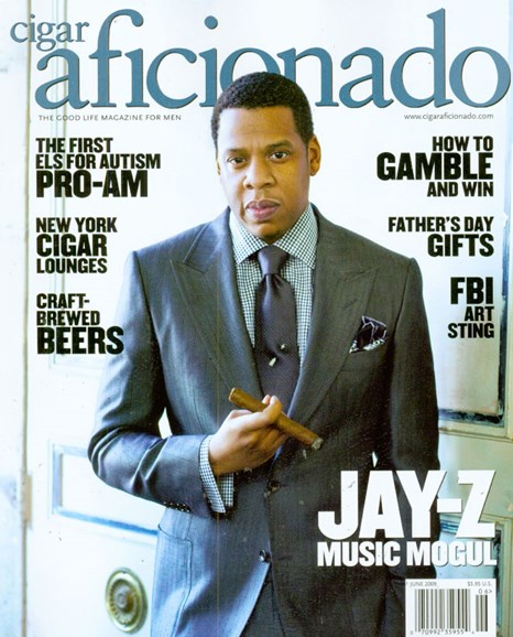 Cigar Aficionado Cover - 6/1/2009