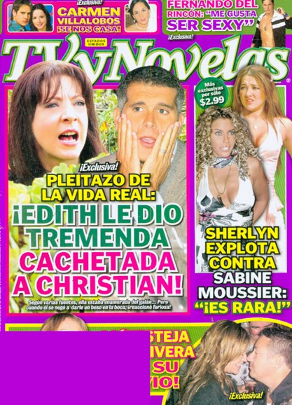 Tv Y Novelas Cover - 5/1/2009