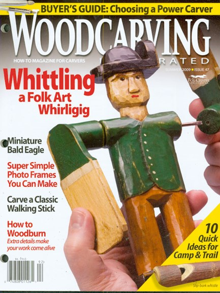Wood Carving Illustrated Cover - 6/1/2009